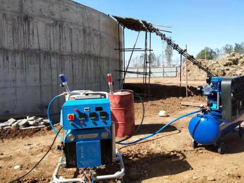 化工池防水防腐喷涂施工