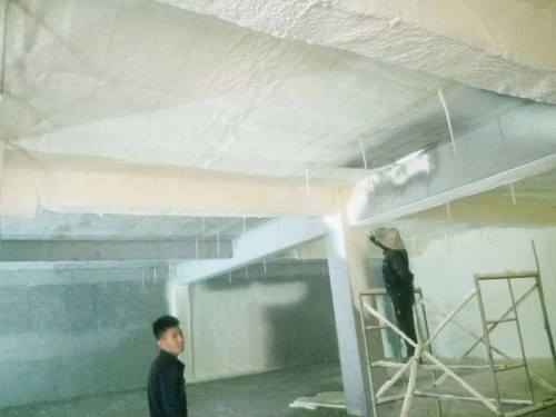 冷库竞彩足球在线购买平台喷涂保温施工